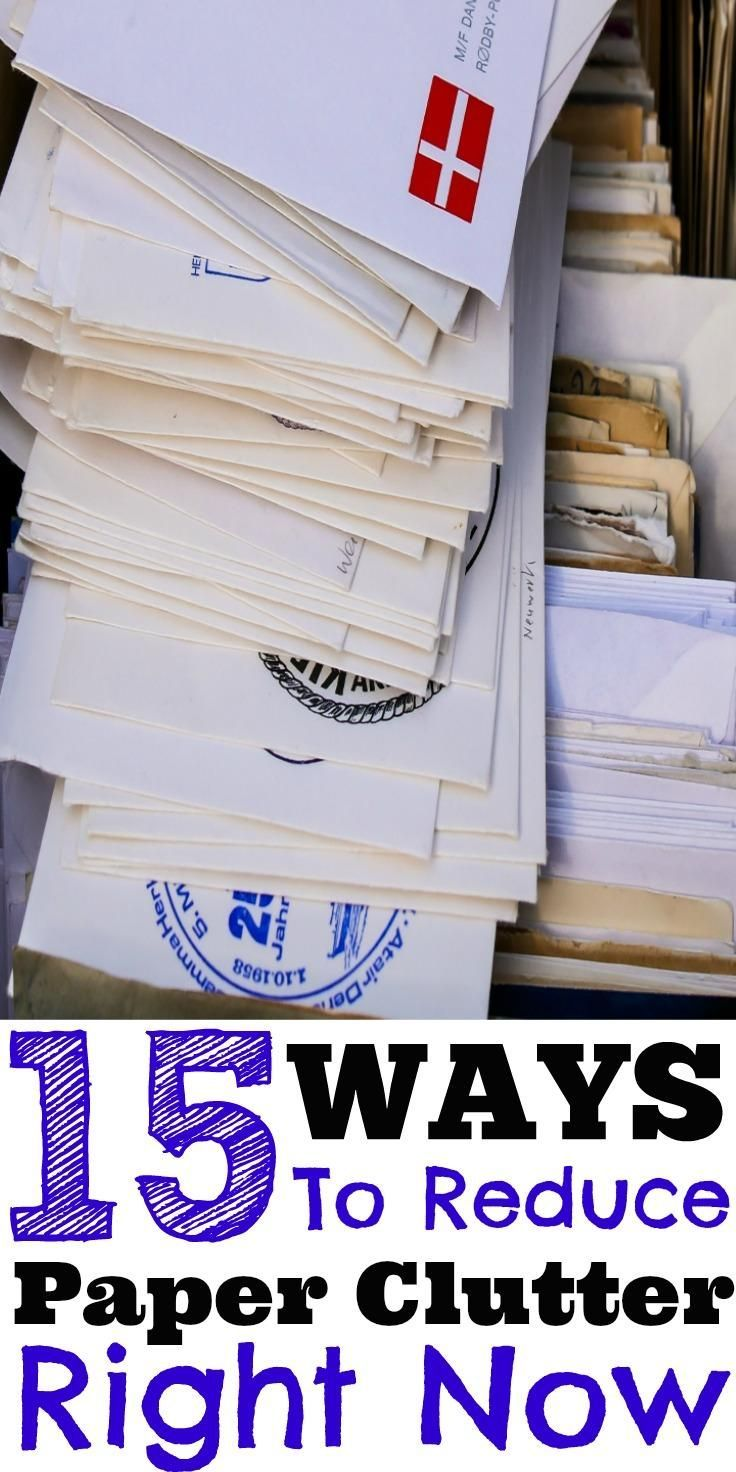 How To Get Rid Of Paper Clutter 15 Ways You Can Reduce Paper Clutter Right Now is part of Organization Work Paper Clutter - Even with our digitally advanced world, many still struggle with paper clutter at home and at work  Here are 15 ways you can reduce paper clutter right now