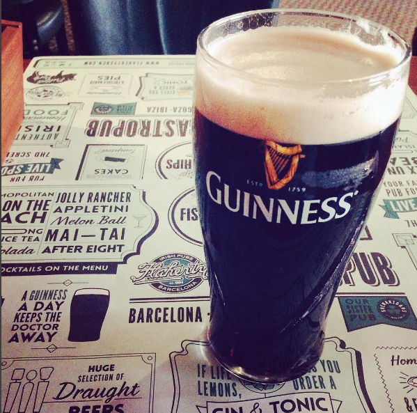 Pin De Flahertys Irish Pubs Spain En Good Old Guinness