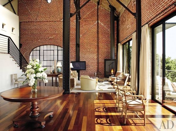 Industrial Interior | Interior brick walls, Industrial interiors ...