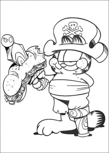 Halloween+Pirates+Pictures+To+Color | Pirate coloring page ...