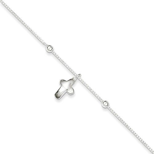 Sterling Silver 3.1mm Semi-Solid Flat Anchor Chain