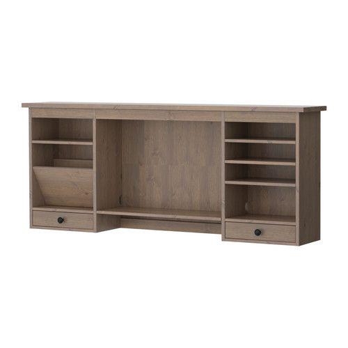 Hemnes m dulo adicional escritorio marr n gris ceo - Ikea modulos salon ...