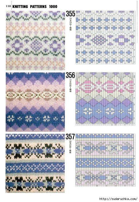 fair isle voorbeeld en patroon | Scintillating socks! | Pinterest ...