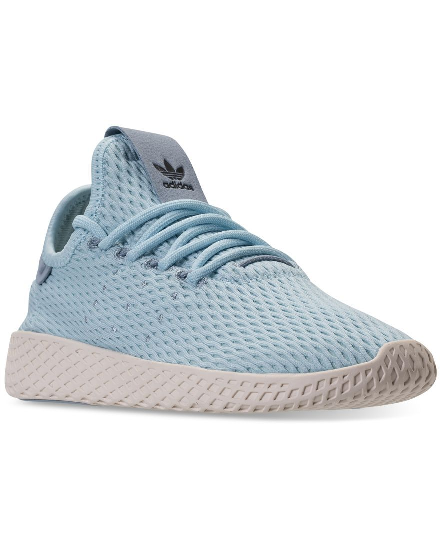 0d8f80fadf22e adidas Boys' Originals Pharrell Williams Tennis Hu Casual Sneakers from  Finish Line