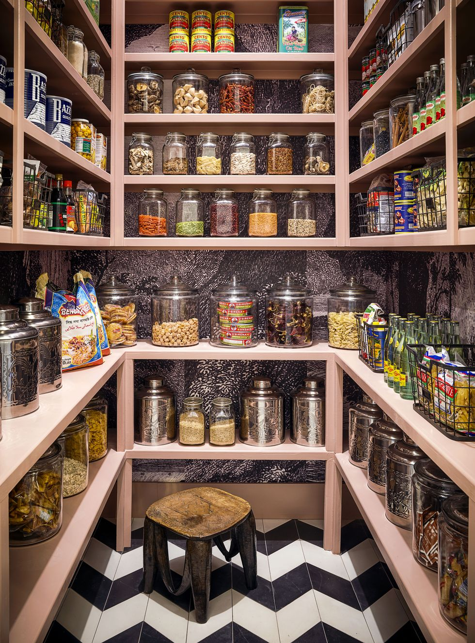 There Are 4 Insanely Cool Kitchens—and a Pink Pantry Full of Fine China!—in This Dallas Home