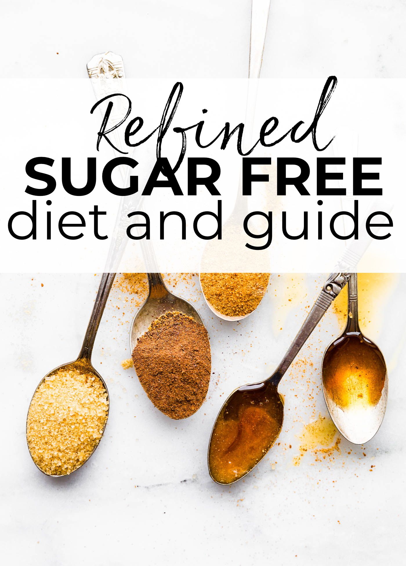 Refined Sugar Free Diet Plan and Guide #sugarfreerecipes