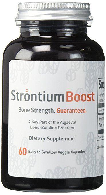 Natural Strontium Citrate Supplement - Strontium Boost (60 ...