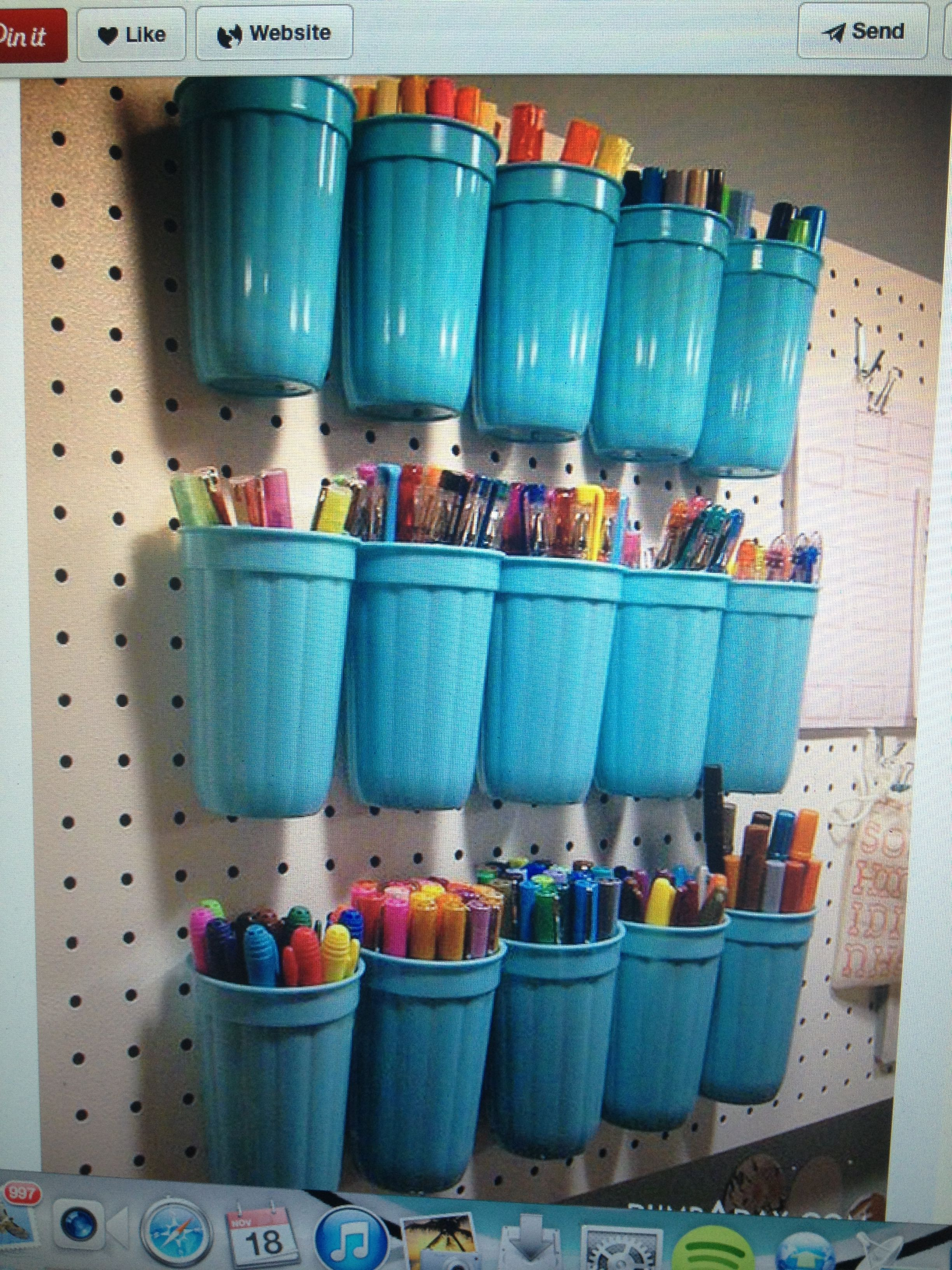 pin by anne alexander on fun crafts craft room garage on new garage organization ideas on a budget a little imagination id=40076