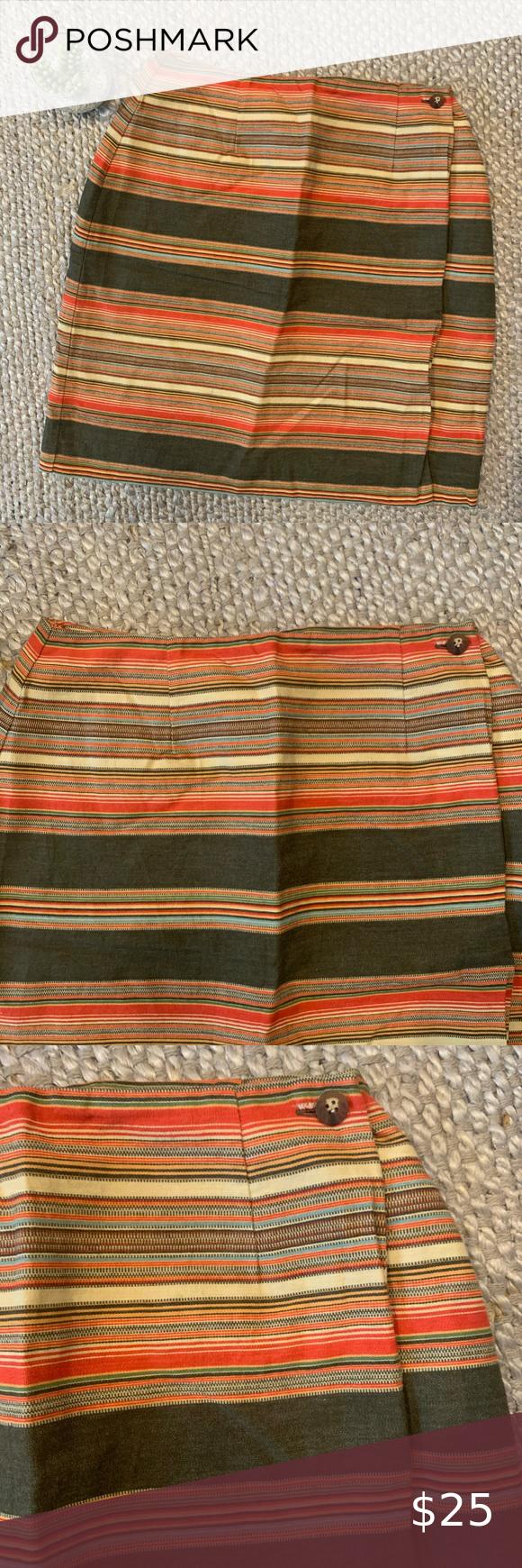 Size 6 Vintage Southwest Wrap Skirt