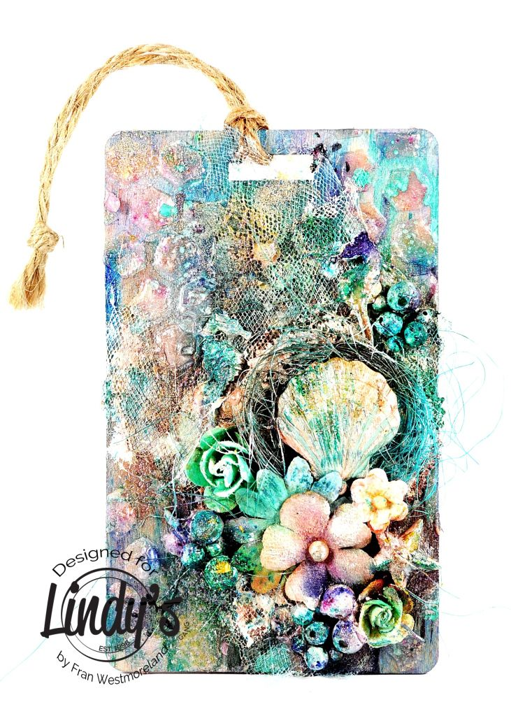 Sea Life Tag with Fran Westmoreland – Lindy's Stamp Gang
