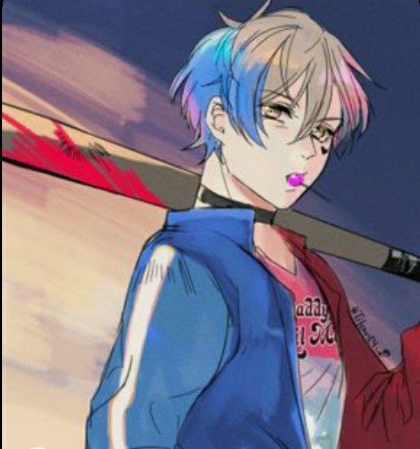 ماذا لو اصبحت هارلي كوين ولد In 2021 Anime Art