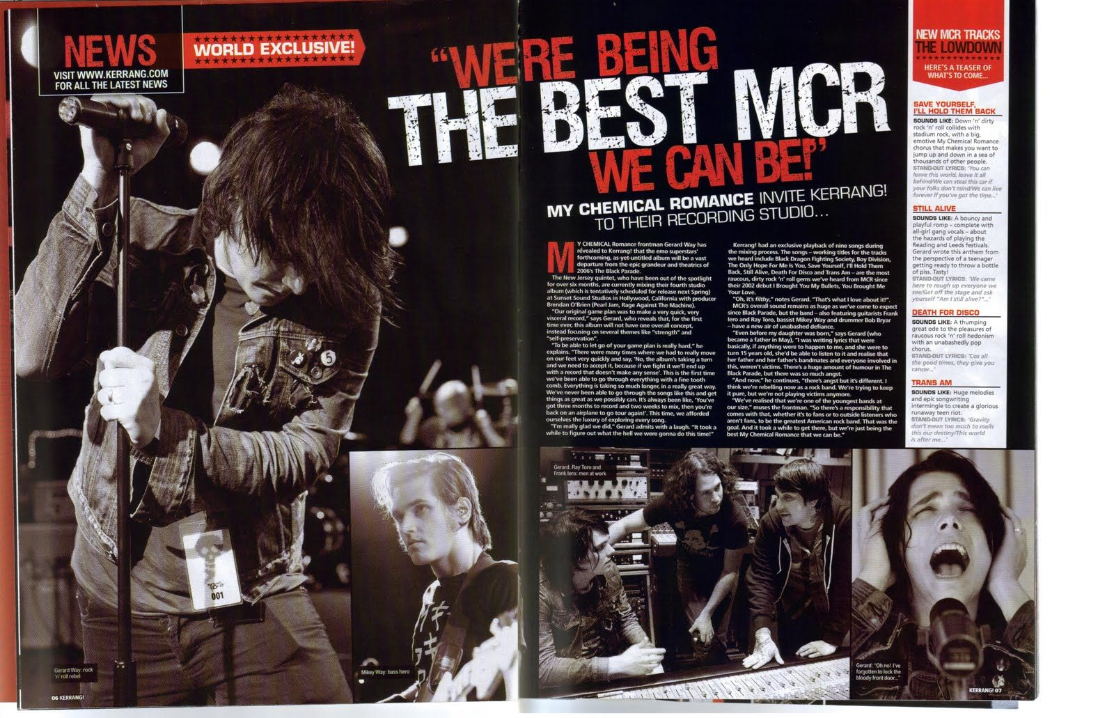 Image result for rock magazine layout