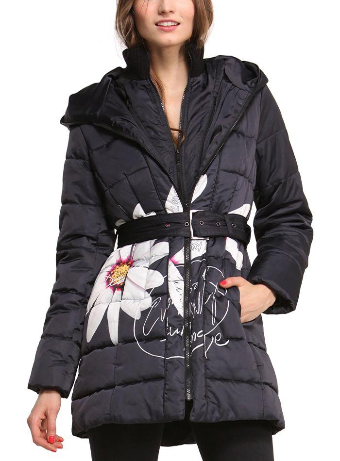 159 01 Pesos Desigual Abrigo Negro I6wtUwq