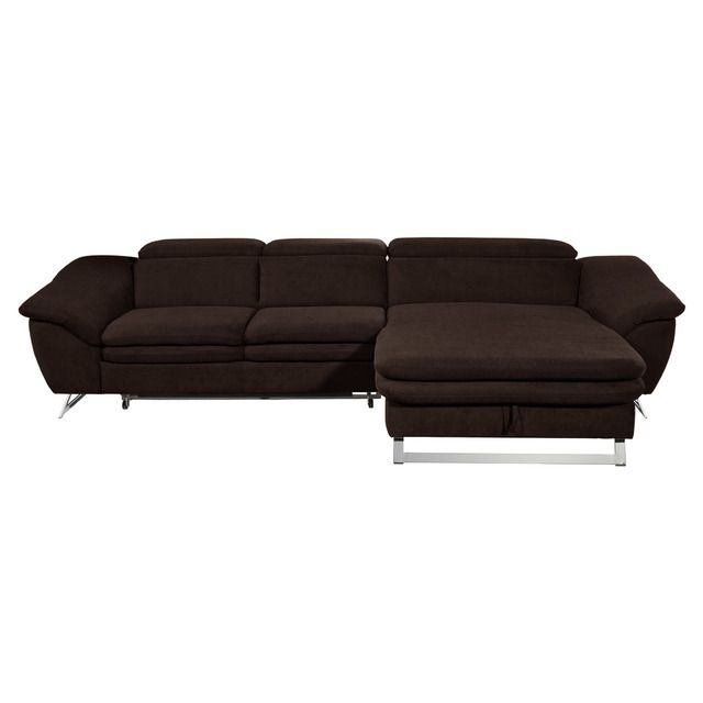 Sofá de 3 plazas con cama y chaise longue derecho con arc³n