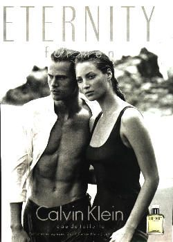 Christy And By Mark Men Eternity Turlington With For Calvin Klein f6YmI7gbyv