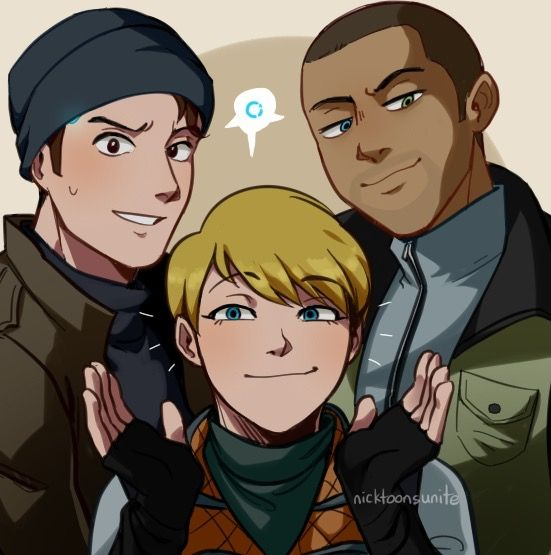 Detroit become human Connor, Kara and Markus By
