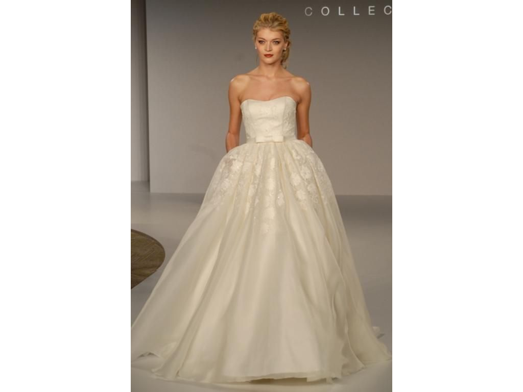 Priscilla of Boston Vineyard Morgan, $900 Size: 2 | Used Wedding ...