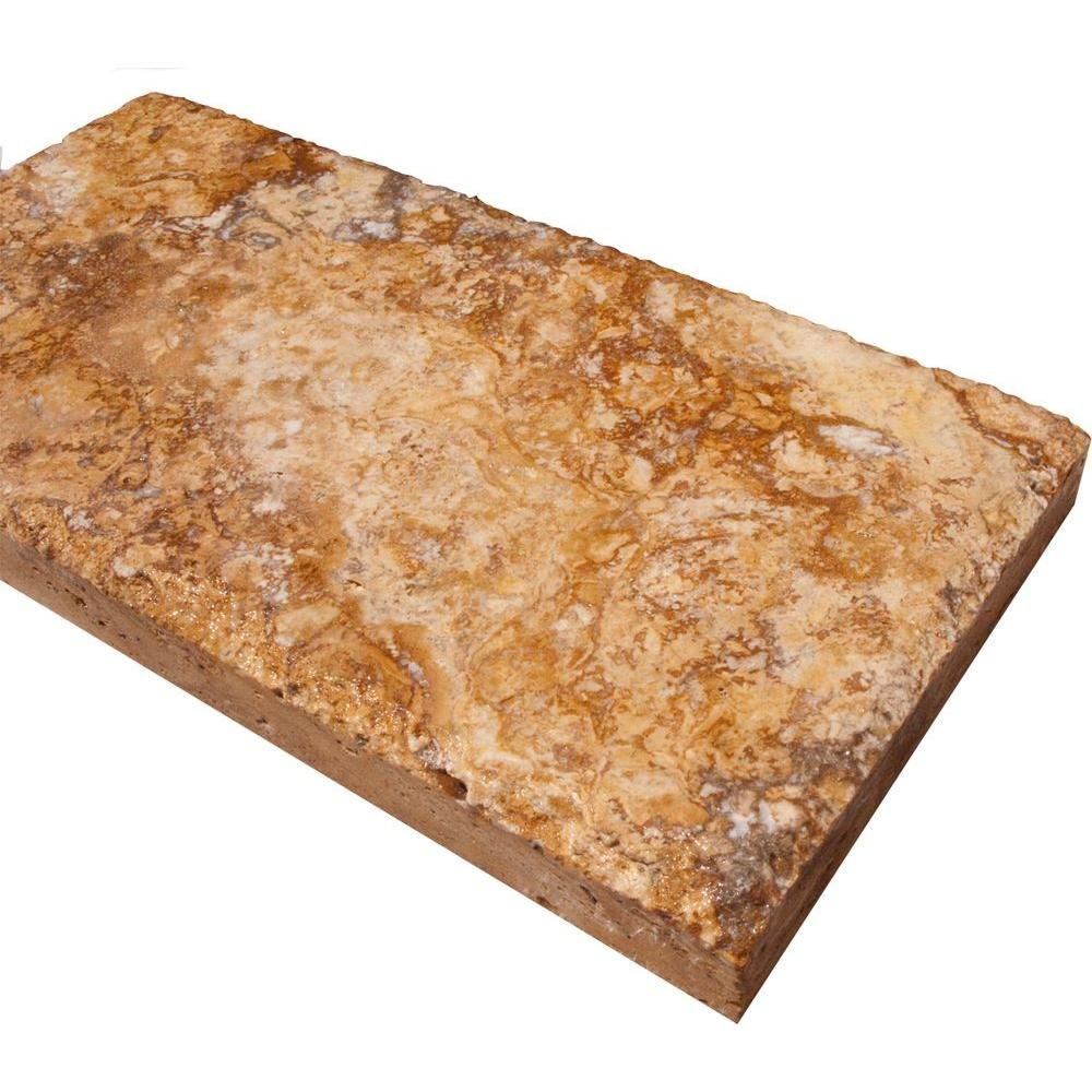 Ms International Cappuccino 12 In X 12 In Polished: $4/sq Ft; MS International Versailles Gold 6 In. X 12 In