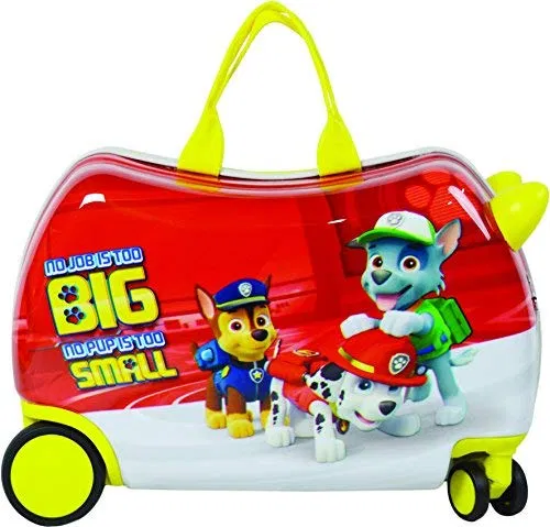 Nickelodeon Paw Patrol Carry On Luggage 20″ Kids Ride-On Suitcase Best Offer – LightBagTravel.com