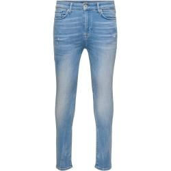 Photo of Only Onmstan Skinny Fit Jeans Herren Blau Only
