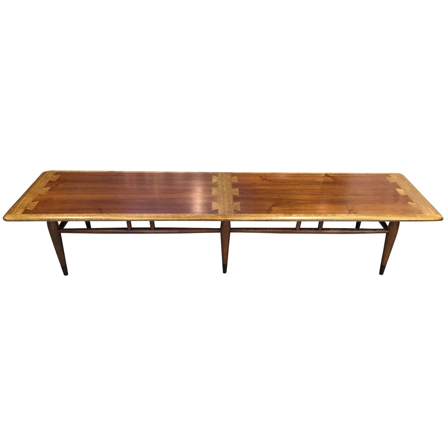 Extra Long Lane Dovetail Coffee Table From A Unique Collection Of Antique And Modern Tail Tables At