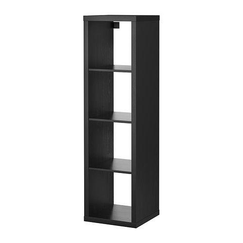 Kallax Open Kast Zwartbruin Apartment Inspiration Plank