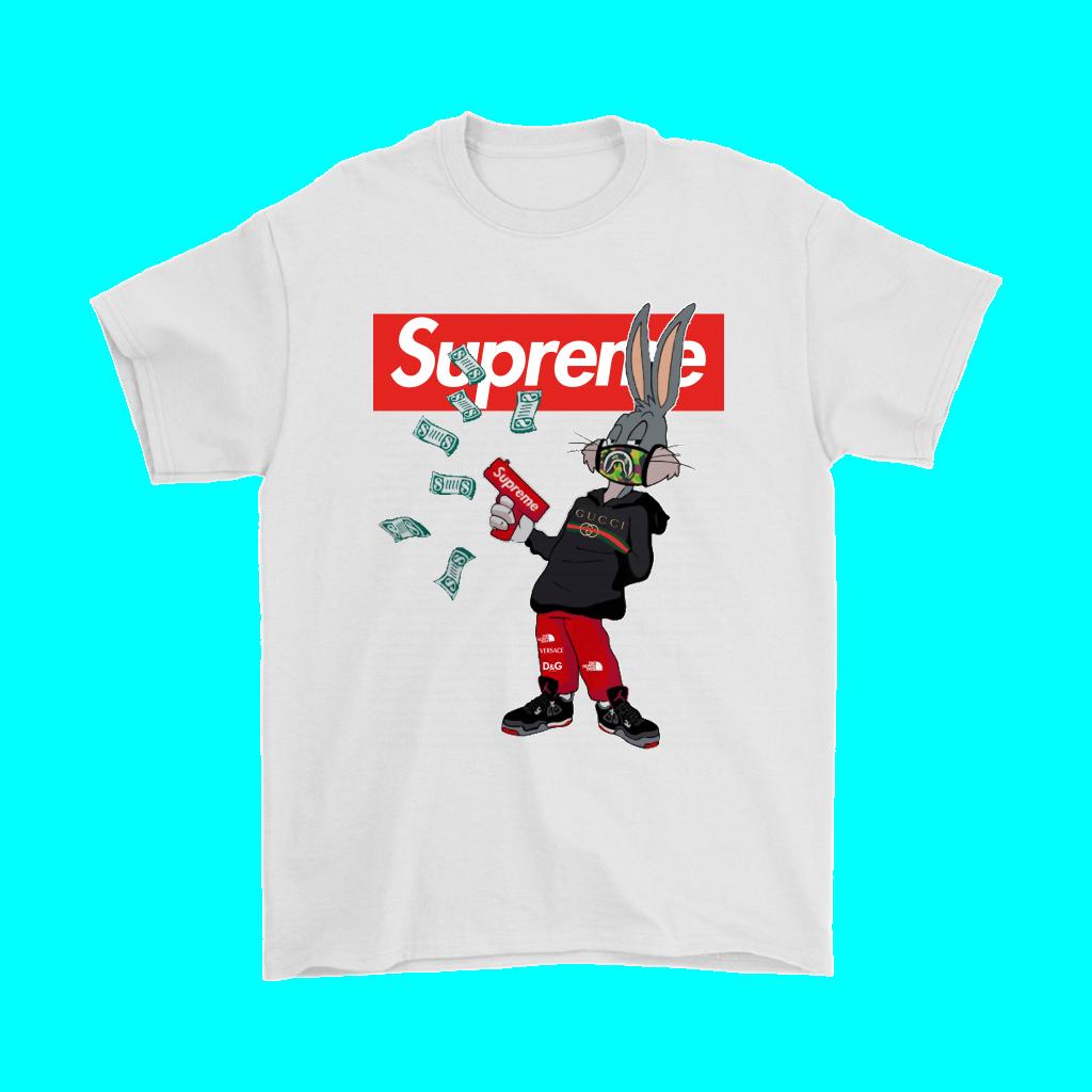 Bugs Rabbit Supreme And Gucci Mashup Shirts Bugs bunny