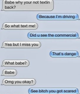 Funny excuses for not texting back
