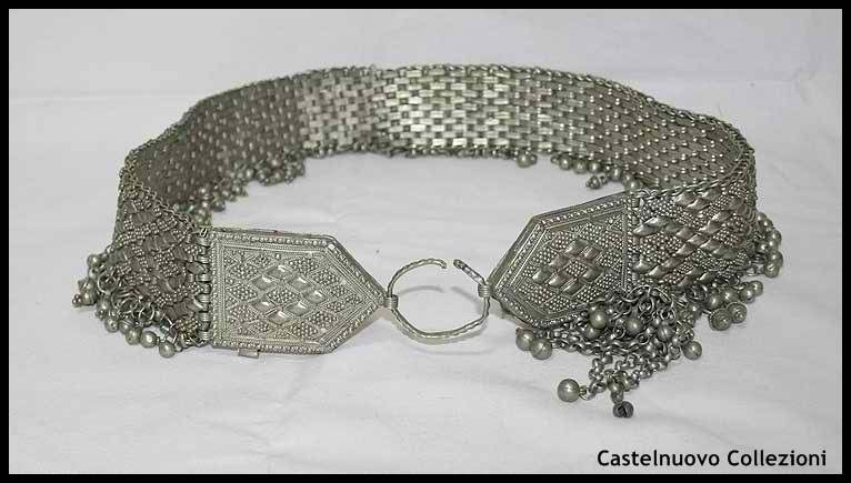 Beautiful Antique Caucassian Silver Filigree Groom Belt           $1500.00 usd