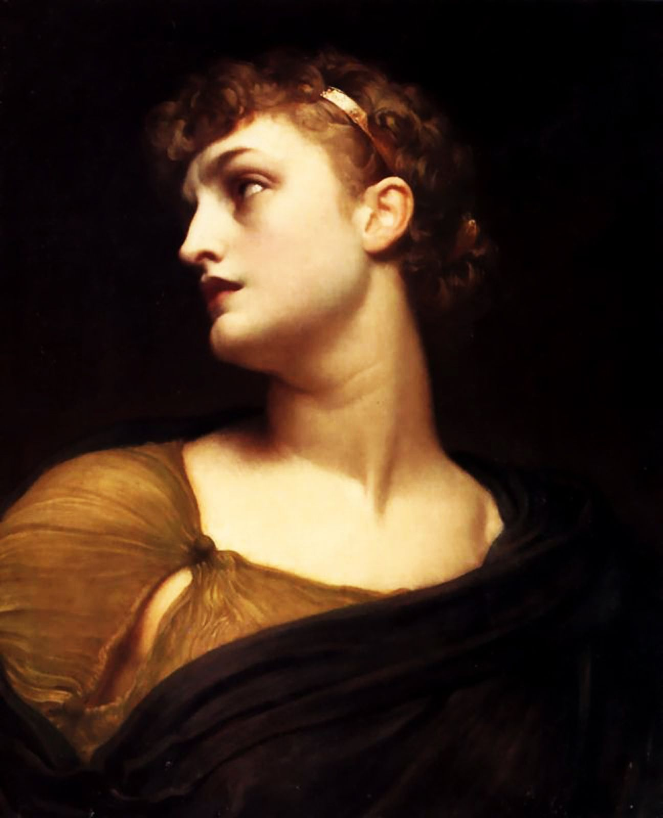 009 Sir Frederick Leighton (18301896) Antigone Oil on canvas