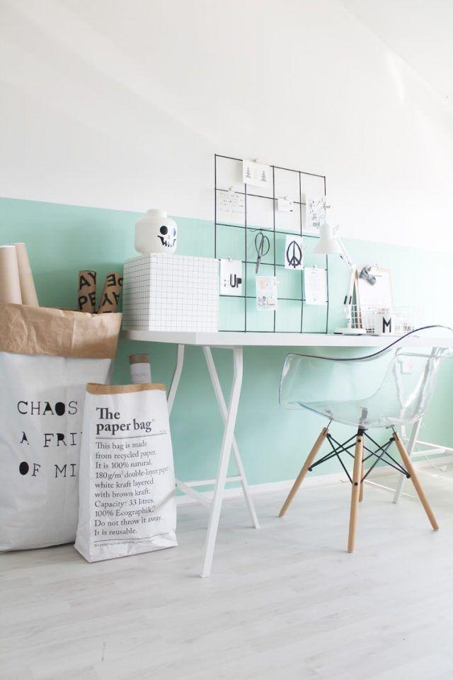 Idée Déco Peinture Intérieur Maison U2013les Murs Bicolores Respirent  Lu0027équilibre