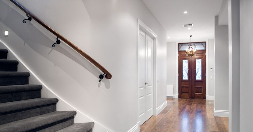 Curved Wall Mounted Rail Curved Walls Staircase Handrail Wall Railing