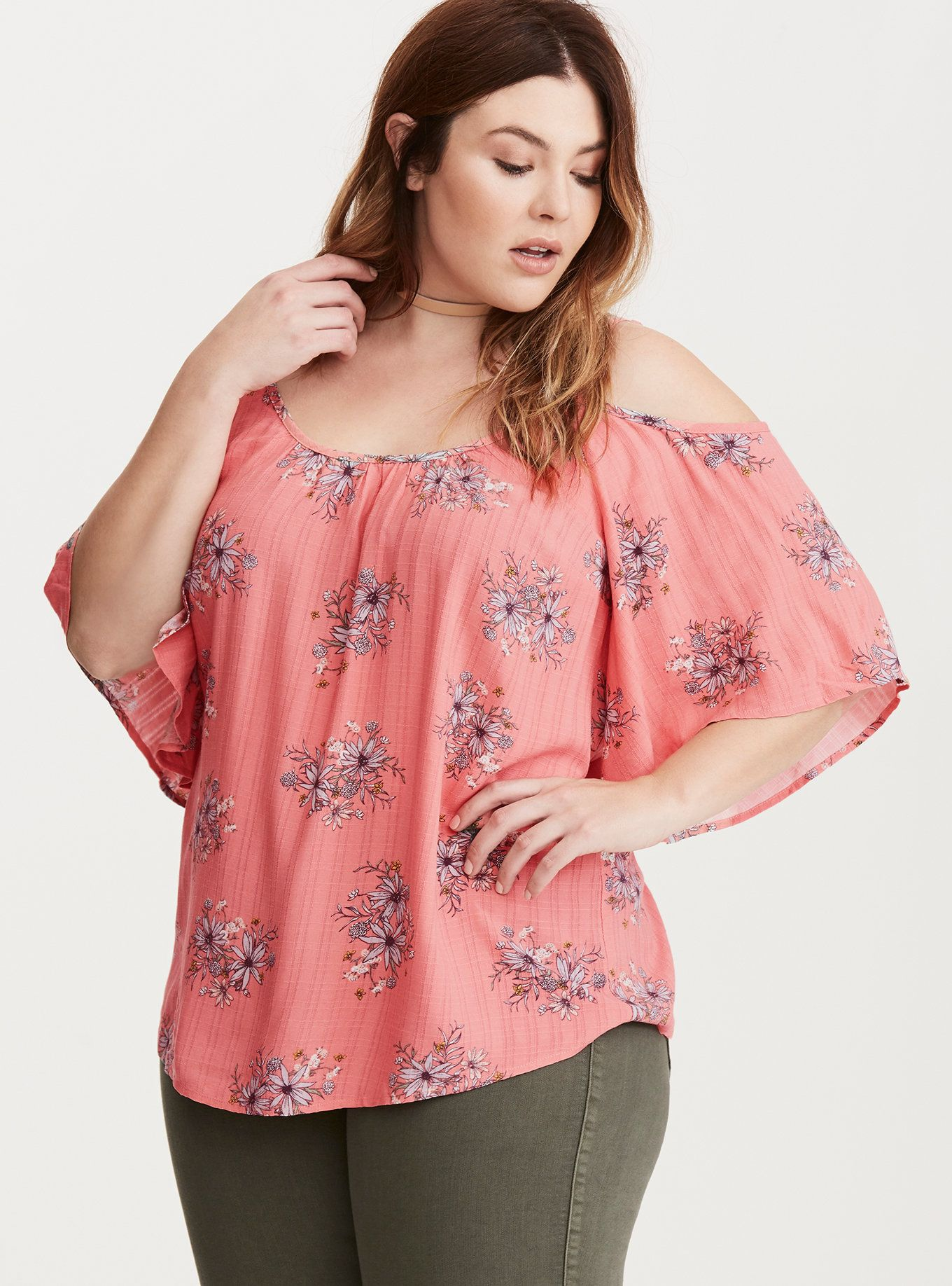 37e17137e7419 The pink gauze on this top is the fabric equivalent of
