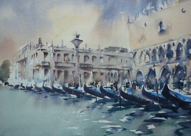 Trevor Lingard - Venice The Grand Canal