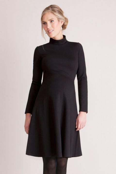 Vanessa Rollkragen-Kleid | Rollkragenkleid, Umstandskleid ...