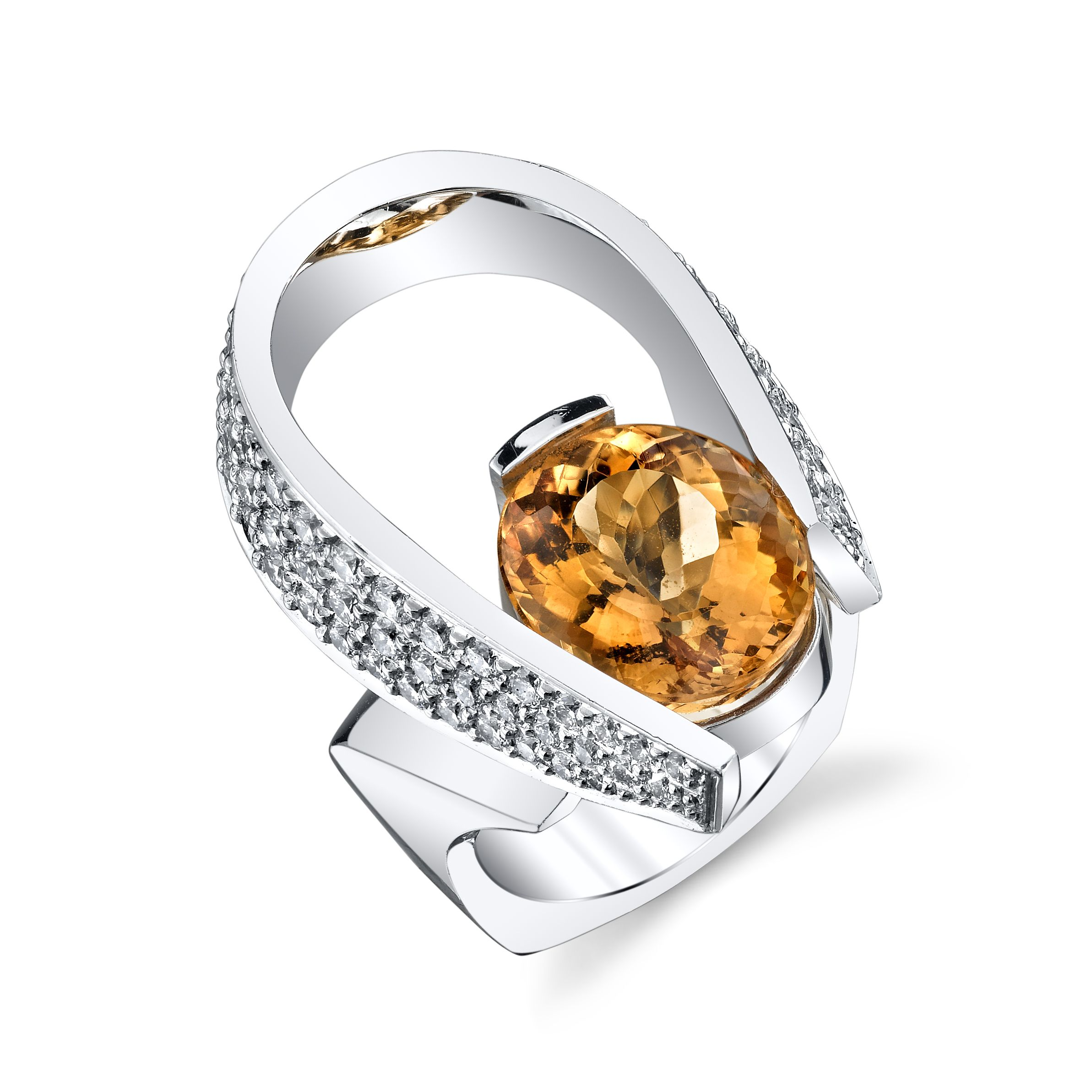 jewellery ring rings multicolor with the indian for ladies diamonds border on preview women orange gold thr