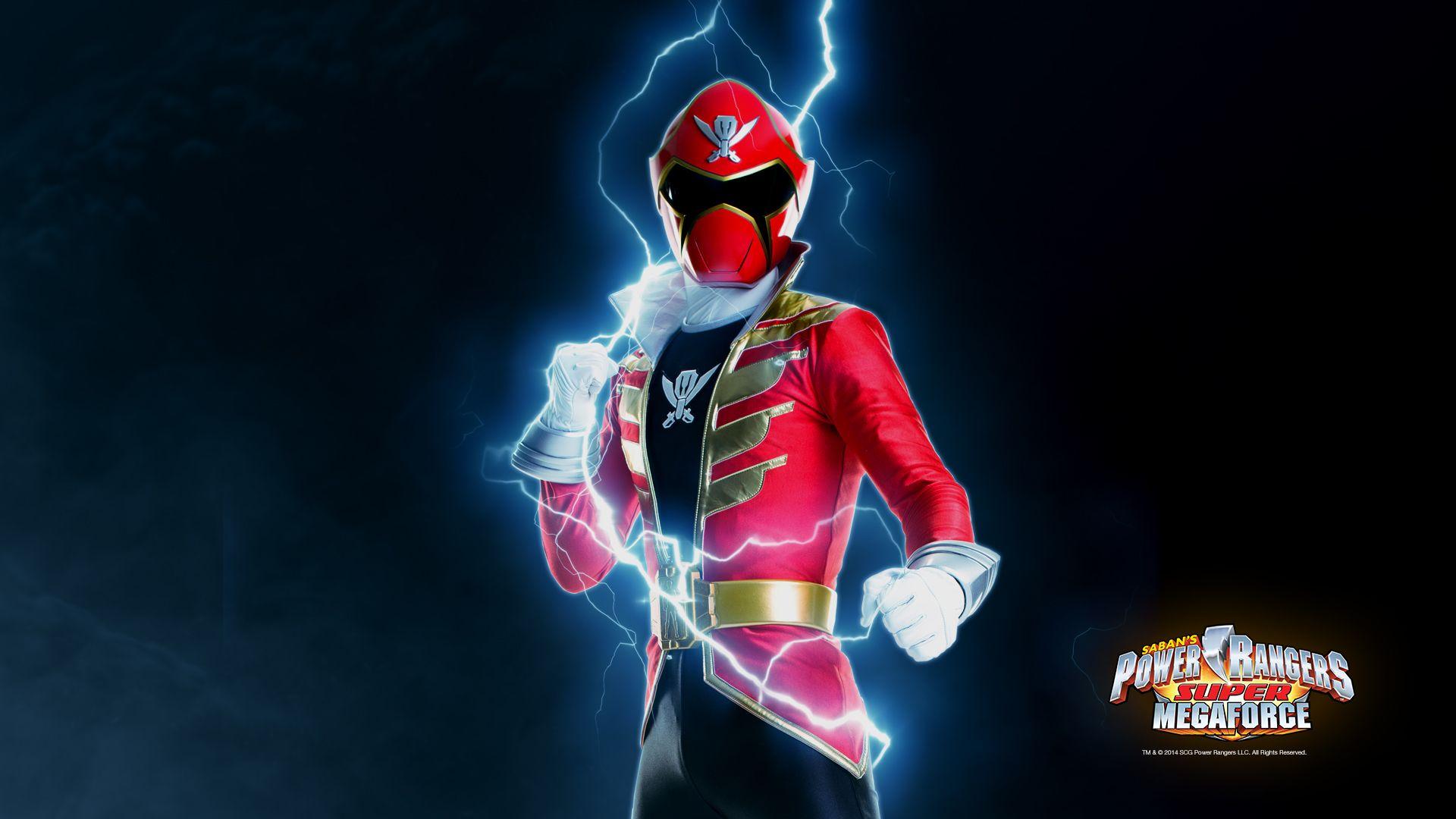 Power Rangers Wallpaper Super Megaforce Red Fun Desktop