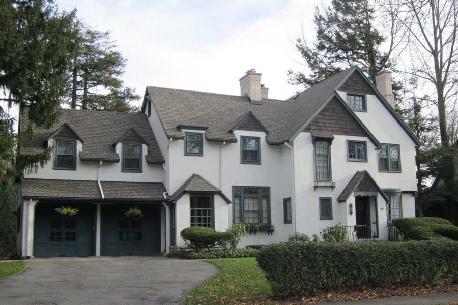 White Stucco Homes white stucco house in brighton, ny | exterior paint colors | pinterest