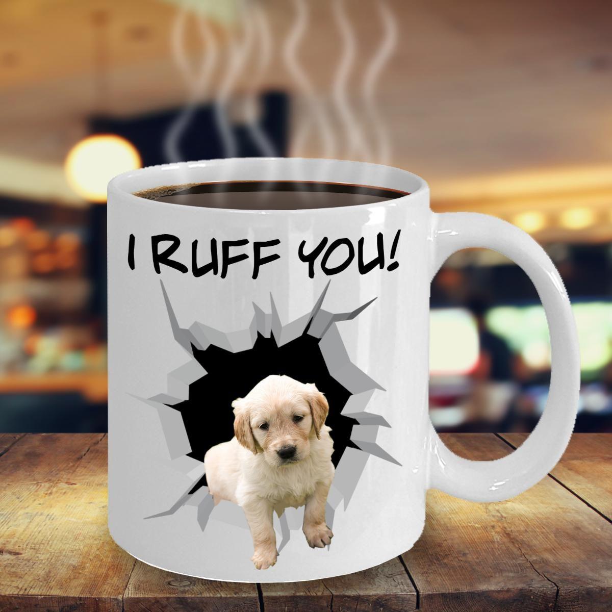 Golden Retriever Lovers Mug Dog Labrador Guard Poodle
