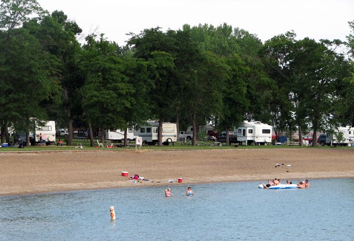 North Point Campground Pickstown Sd