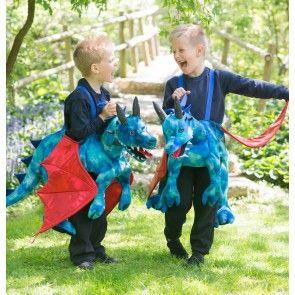Ride On Dragon Costume