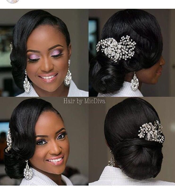 Pin By Touch Of Jewel Events And Designs Llc On Bridal Hairstyles