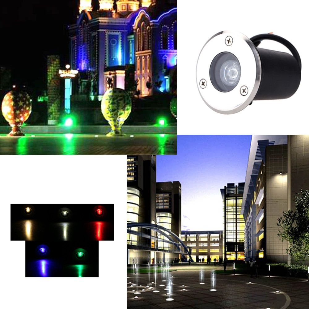 Led Underground Lamps The Cheapest Price Ip68 Waterproof 1w 3w Outdoor Led Underground Light Ground Garden Buried Yard Spot Outdoor Lighting Landscape Inground Lamp For Sale Led Lamps
