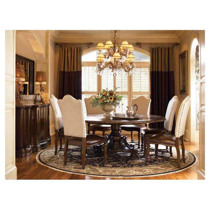 Ravel Round Dining Table  Absolutely Love It  Pinterest  Round Alluring 7 Piece Round Dining Room Set Design Inspiration