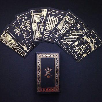 Golden Thread Tarot Deck Tarot Cards Modern Tarot Deck Oracle