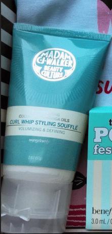 madam c.j. walker beauty culture curl whip styling souffle