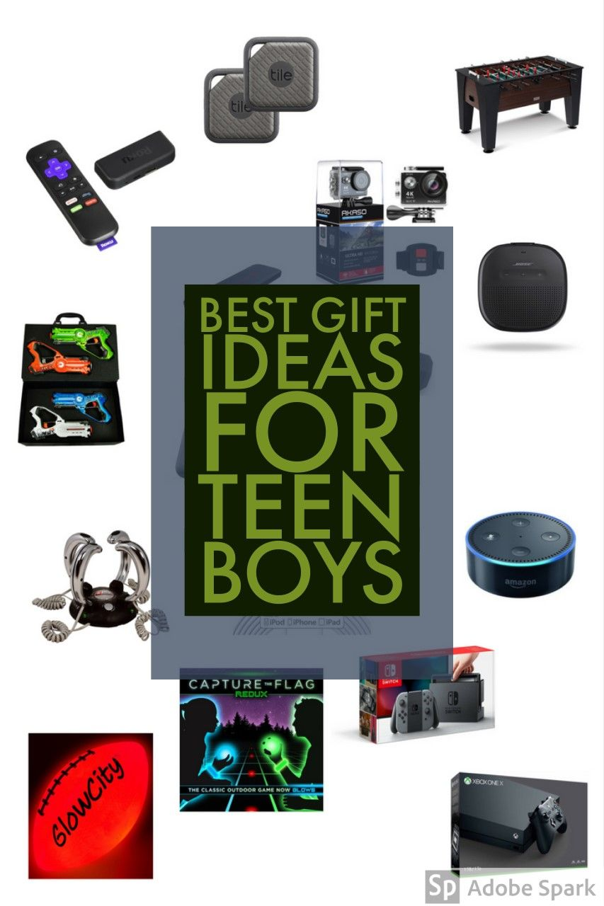 Best Gift Ideas For Teen Boys - I Asked And They Answered ...