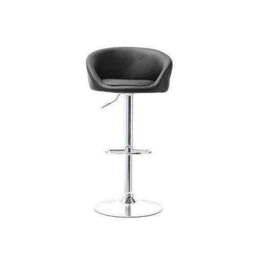 Hoker Height Adjustable Swivel Bar Stool Selsey Living Colour Upholstery Black Swivel Bar Stools Bar Stools Adjustable Bar Stools