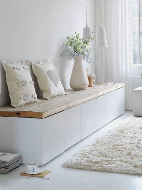 Leuk bankje voor in de huiskamer of eventueel een slaapkamer | DIY ...