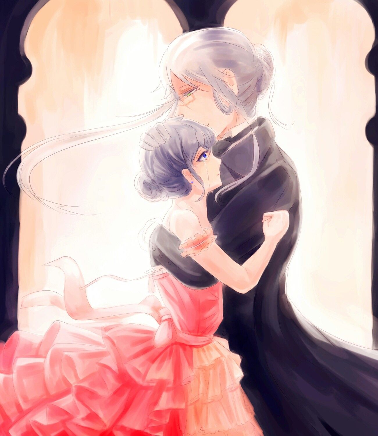 Forget all sad feelings.. Would you like to party with me all night dancing? Graceful Lady Phantomhive..?